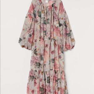 H&M Floral ankle dress